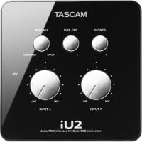 Tascam IU-2 Audio/MIDI Interface top