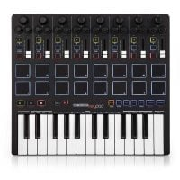 Reloop KEYPAD 25 Key MIDI Keyboard with Pads With Ableton Live Lite 9 Top View