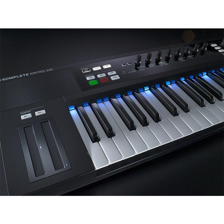 native instruments komplete kontrol s49 midi keyboard 49 key dj city. Black Bedroom Furniture Sets. Home Design Ideas