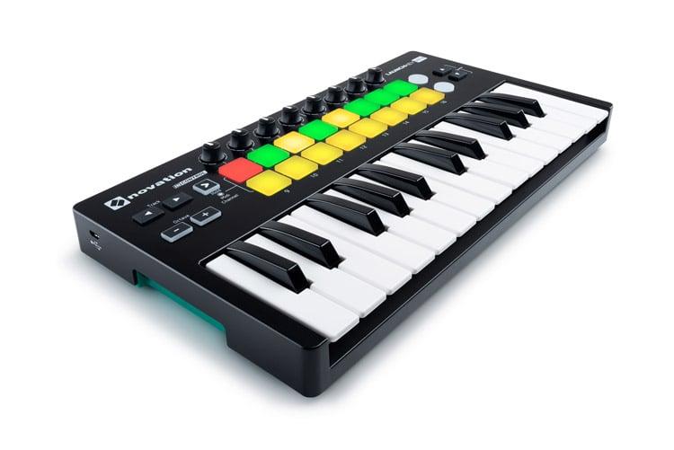 Novation LaunchKey Mini mk2 MIDI Keyboard 25 Key with Pads
