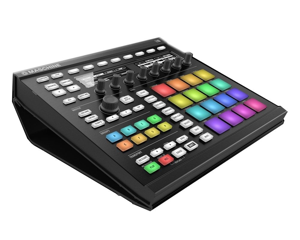 native instruments maschine stand for maschine mk2 dj city. Black Bedroom Furniture Sets. Home Design Ideas