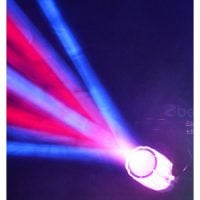 Beamz Moonflower Clear Effect beam 1