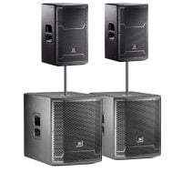 JBL PRX PA Pack with Subs