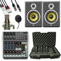 Studio Package 3 Band Producer Pack AVE Package View
