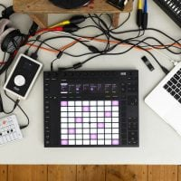 Ableton Push 2 top set-up