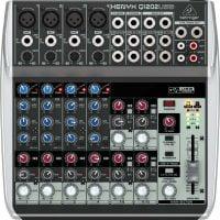Q1202USB Behringer PA Mixer top