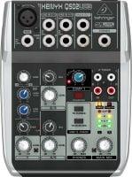 Q502USB Behringer PA Mixer top