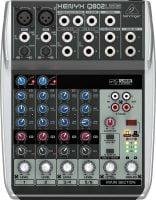 Q802USB Behringer PA Mixer top
