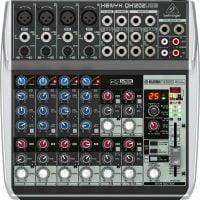 QX1202USB Behringer PA Mixer top