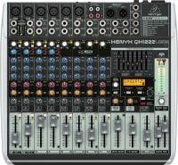 QX1222USB Behringer PA Mixer top