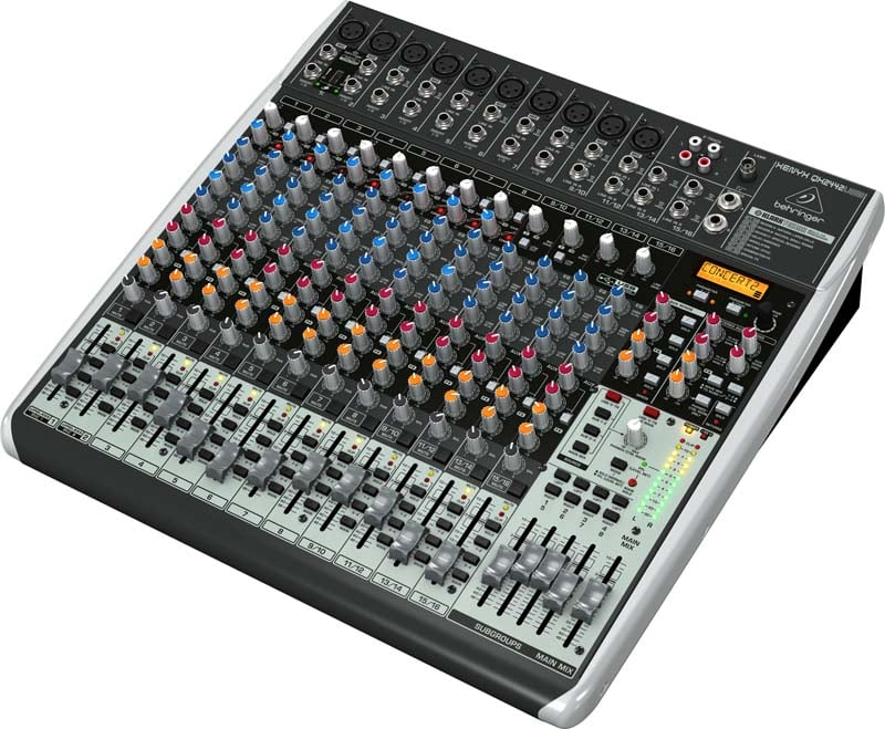 behringer qx2442usb pa mixer 24 channel dj city. Black Bedroom Furniture Sets. Home Design Ideas