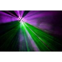 Beamz Radical Multi-Effect Light purple and green