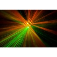 Beamz Radical Multi-Effect Light amber and green