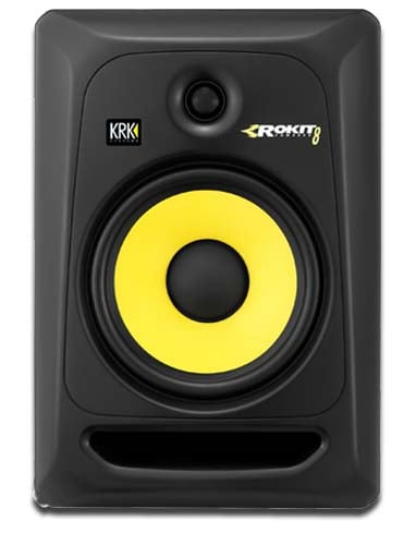 krk rokit 8 g3 studio monitor 8 inch dj city. Black Bedroom Furniture Sets. Home Design Ideas