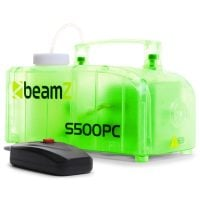 Beamz S500PC Smoke Machine green