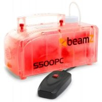 Beamz S500PC Smoke Machine red