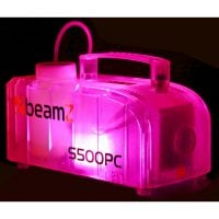 Beamz S500PC Smoke Machine pink