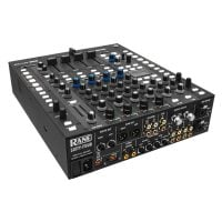 Rear Angle View Rane Sixty-Four 4 Channel Digital DJ Mixer with Serato Intergration