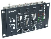 STM-2211B Skytec DJ Mixer_front