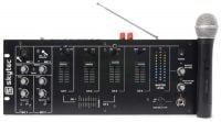 STM3018A Skytec 6 Channel Powered Mixer Front View
