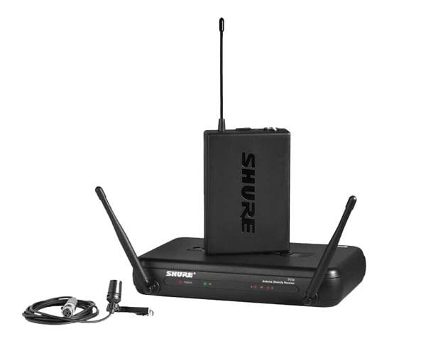 Shure Lapel Microphone Wireless : shure svx14cvl j9 wireless lapel microphone dj city ~ Vivirlamusica.com Haus und Dekorationen