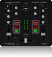 Behringer VMX100USB DJ Mixer top