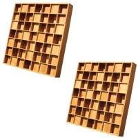 Auralex WavePrism Acoustic Diffusor pair