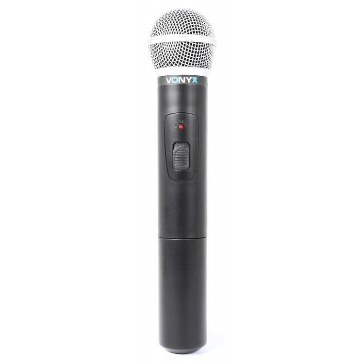 vonyx wm511 single channel handheld wireless microphone system dj city. Black Bedroom Furniture Sets. Home Design Ideas