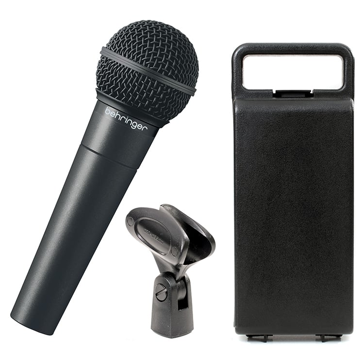 Behringer XM8500 Ultravoice Dynamic Cardioid Vocal Microphone With Color Black