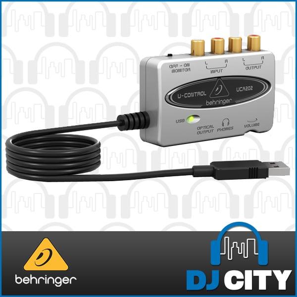 Behringer UCA202 External Sound Card