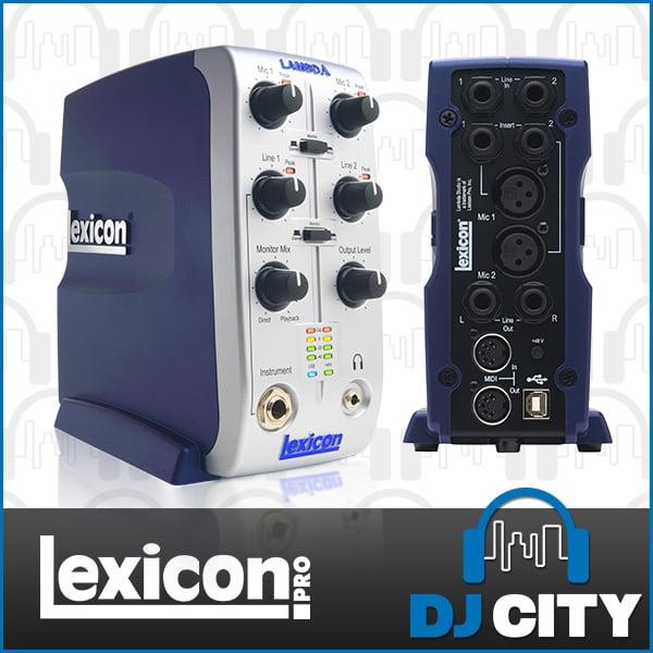 Lexicon Lambda Recording Interface with Cubase Software