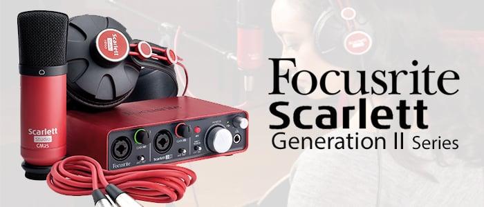 Focusrite Scarlett Gen2