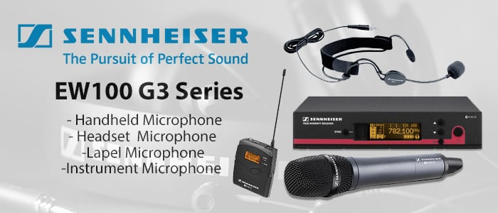 Sennheiser EW Wireless Microphone