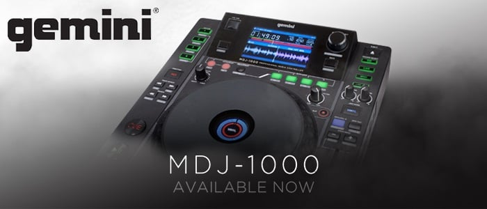 Gemini MDJ1000 Media Player