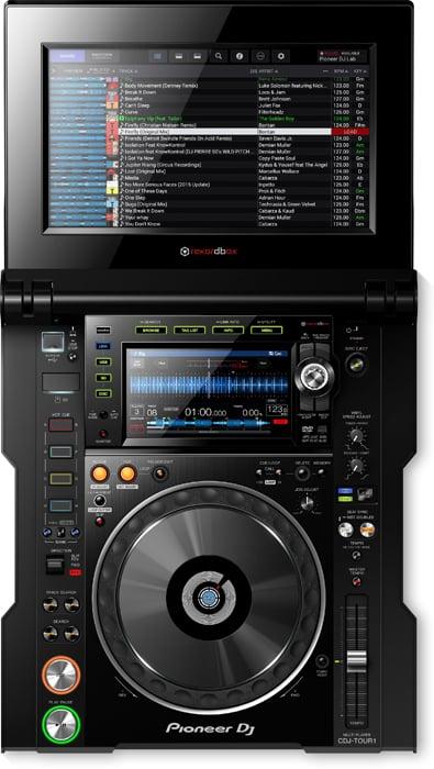 Pioneer CDJ-TOUR1 CD/MIDI/USB/SD DJ Media Player