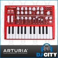 arturia-microbrute-red-ebay