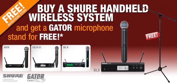 Free Gator Microphone Stand