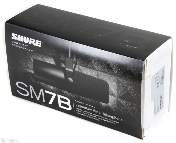 shure sm7b broadcast dynamic vocal microphone dj city. Black Bedroom Furniture Sets. Home Design Ideas