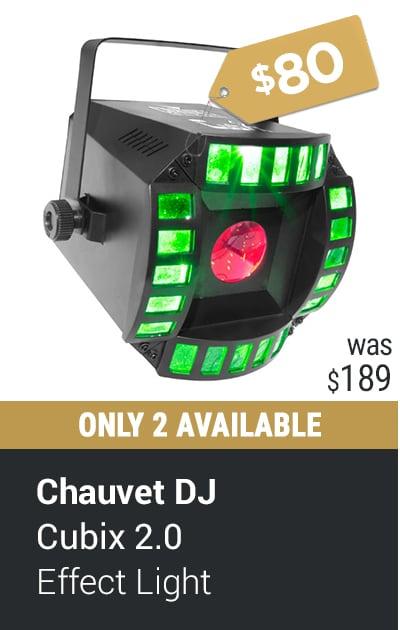 CHAUVET DJ CUBIX 2.0 LED DJ EFFECT LIGHT