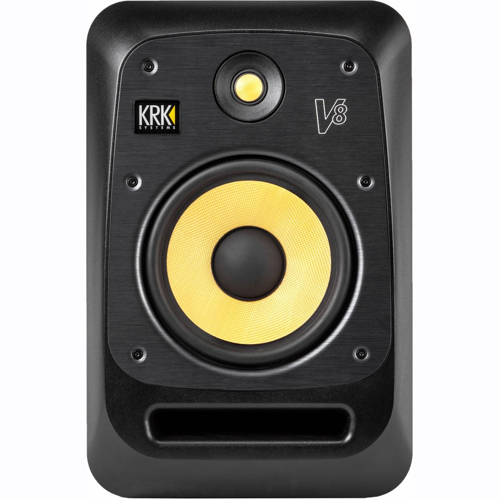 Krk V8 S4 Studio Monitor 8 Inch Dj City