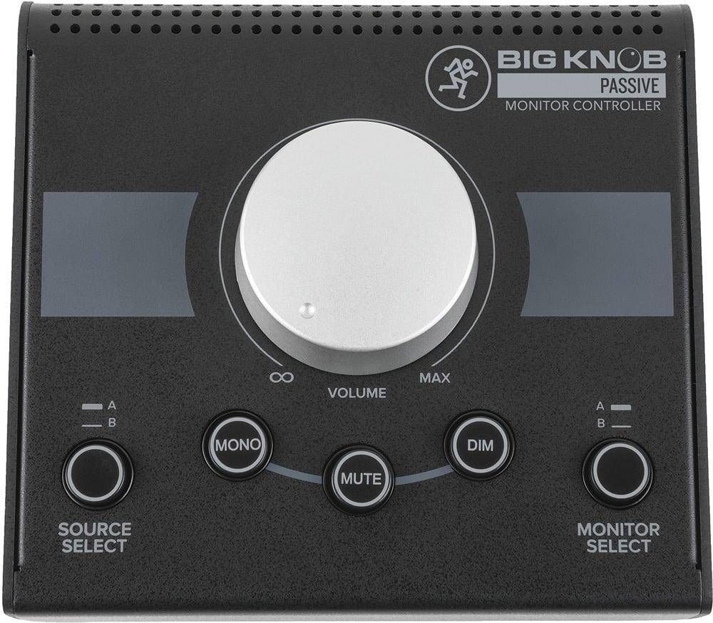 Mackie Big Knob Passive Monitor Controller Dj City