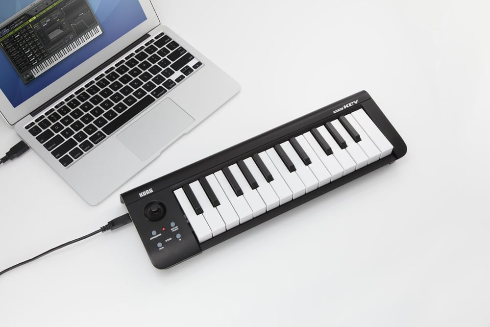 korg microkey 2 air 25 bluetooth wireless midi controller 25 key note keyboard 4959112145948 ebay. Black Bedroom Furniture Sets. Home Design Ideas