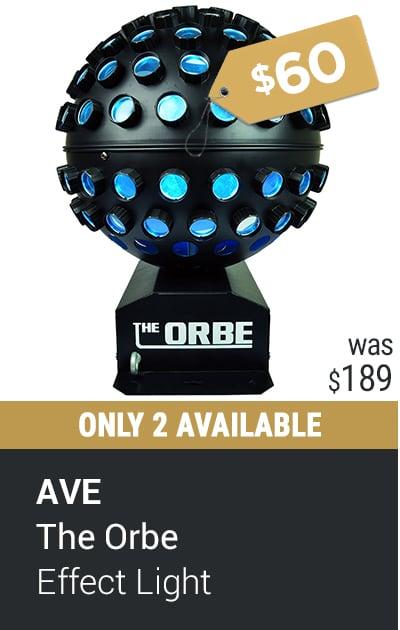 AVE ORBE LED DJ LIGHT EFFECT