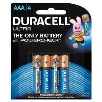 Duracell Ultra AAA4