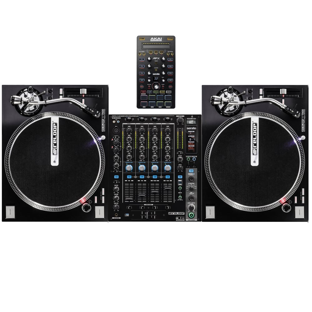 reloop complete vinyl dj pack serato scratch and afx controller dj city. Black Bedroom Furniture Sets. Home Design Ideas
