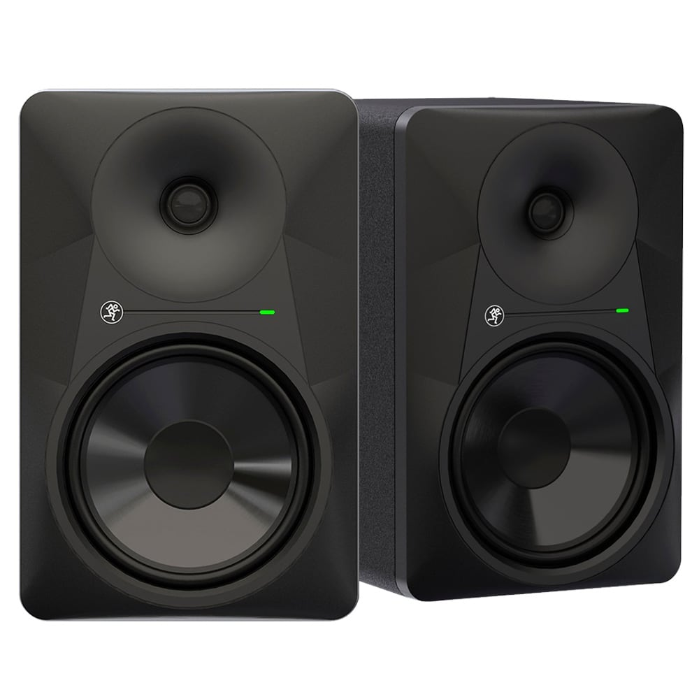 mackie mr824 8 inch studio monitor pair dj city. Black Bedroom Furniture Sets. Home Design Ideas