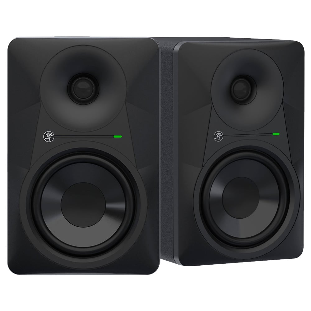 mackie mr624 6 5 inch studio monitor pair dj city. Black Bedroom Furniture Sets. Home Design Ideas