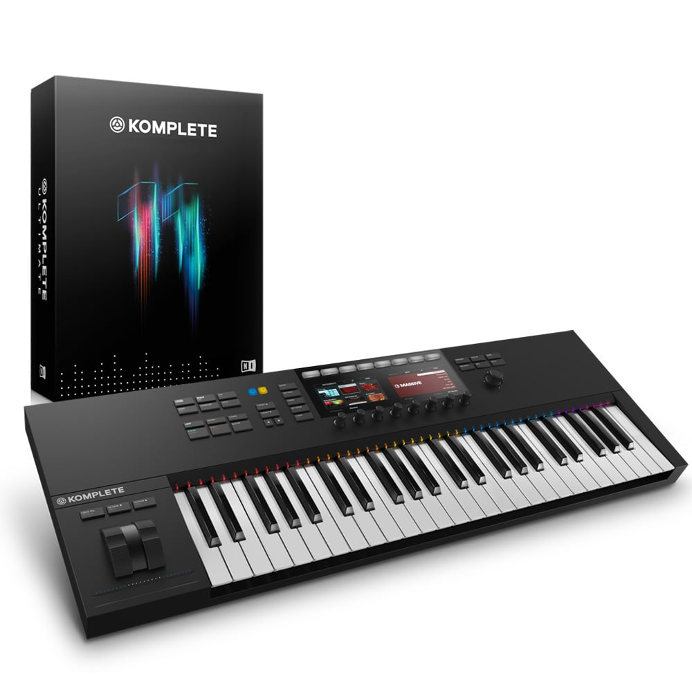 Native Instruments Kontrol S49 MK2 with Komplete 11