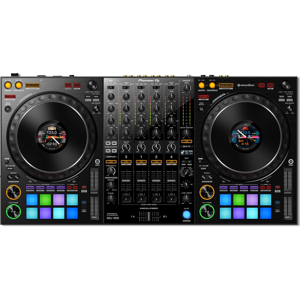 pioneer dj ddj 1000 4 channel pro dj controller dj city. Black Bedroom Furniture Sets. Home Design Ideas