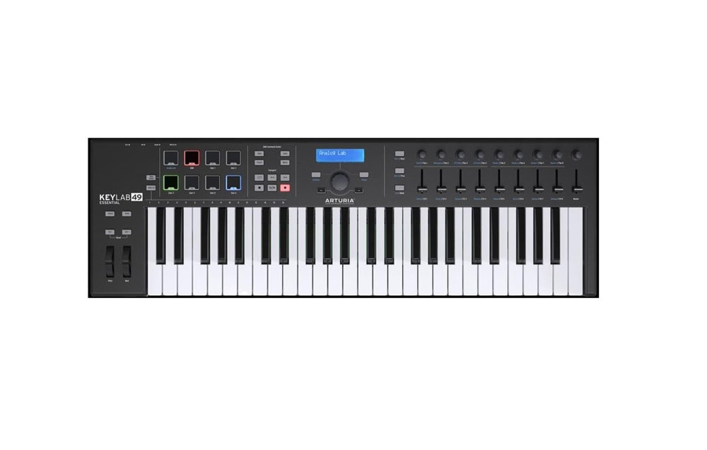 Arturia Keylab Essentials 49 black